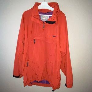 Reebok Outdoor men's Lg performance jacket 1/2 zip